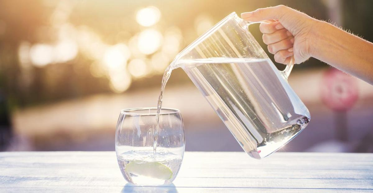 como preparar agua alcalina para bajar de peso